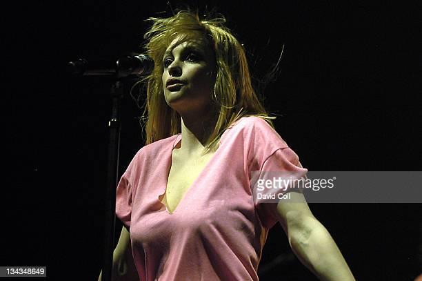Alison Goldfrapp during Sonar Festival 2006 Day 3 in Barcelona Barcelona Spain
