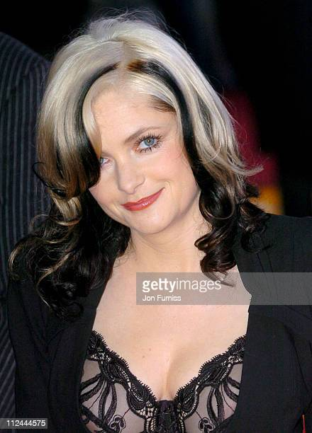 Alison Goldfrapp during The 2004 Brit Awards Arrivals at Earls Court in London Great Britain