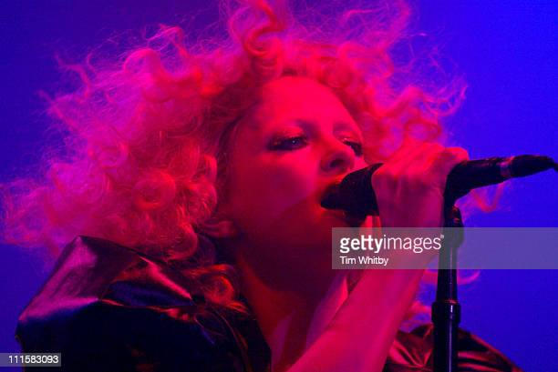 Alison Goldfrapp of Goldfrapp during V Festival 2005 Chelmsford Day Two Show at Hylands Park in Chelmsford Great Britain