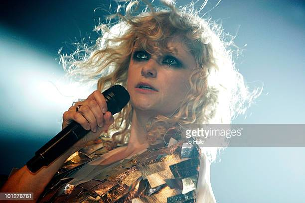 Alison Goldfrapp of Goldfrapp performs at GAY on May 29 2010 in London England