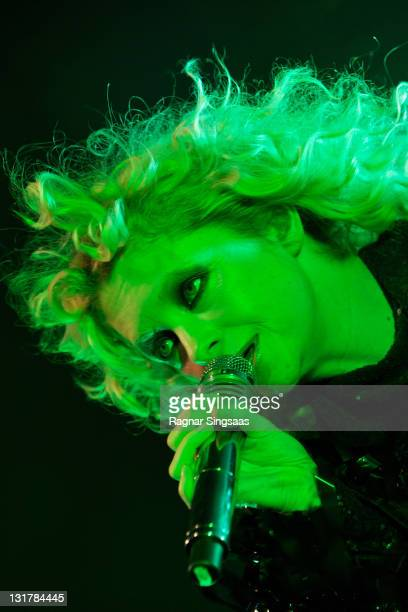 Alison Goldfrapp of Goldfrapp performs at Rockefeller on October 18 2010 in Oslo Norway