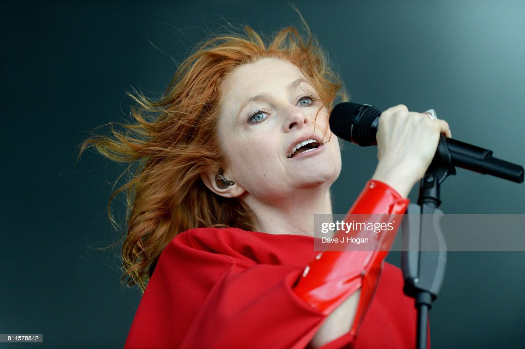 Alison Goldfrapp of Goldfrapp performs on Day 2 of Latitude Festival at Henham Park Estate on July 14, 2017 in Southwold, England.