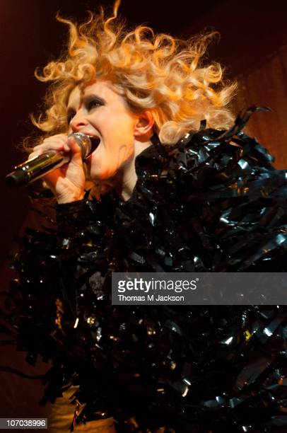 Alison Goldfrapp of Goldfrapp performs on stage at O2 Academy on November 20, 2010 in Newcastle upon Tyne, England.