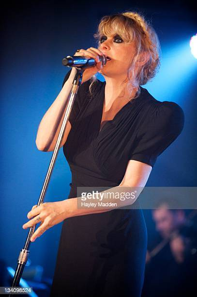 Alison Goldfrapp of Goldfrapp performs on stage during Little Noise Sessions at St JohnAtHackney on November 25 2011 in London United Kingdom