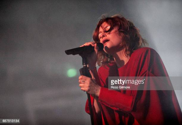 Alison Goldfrapp performs at the 02 Academy as part of the Radio 6 Music Festival Day one on March 24 2017 in Glasgow United Kingdom