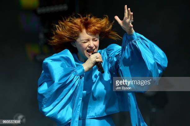 Alison Goldfrapp performs live on stage during British Summer Time at Hyde Park on July 7 2018 in London England