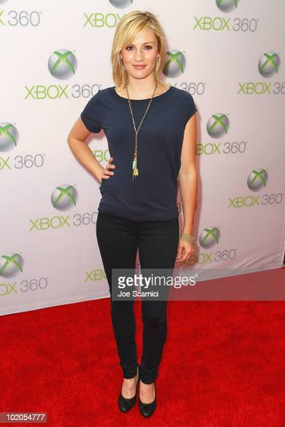Alison Haislip arrives to the World Premiere Of 'Project Natal' For Xbox 360 at Galen Center on June 13 2010 in Los Angeles California