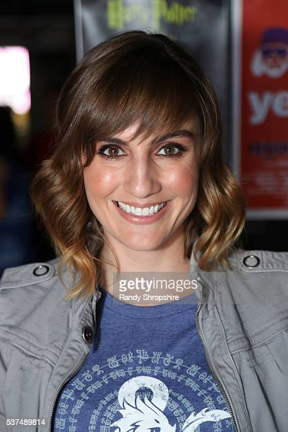 Alison Haislip attends DD Live From Meltdown Comics Comics and Collectibles on June 1 2016 in Los Angeles California