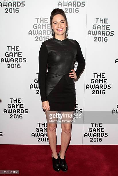 Alison Haislip attends the 2016 Game Awards at Microsoft Theater on December 1 2016 in Los Angeles California