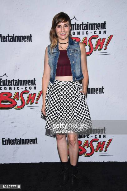 Alison Haislip attends the Entertainment Weekly's Annual ComicCon Party 2017 at Float at Hard Rock Hotel San Diego on July 22 2017 in San Diego...