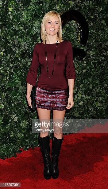 Alison Haislip attends the QVC Red Carpet Style Party held at the Four Seasons Hotel Los Angeles on February 25 2011 in Los Angeles California