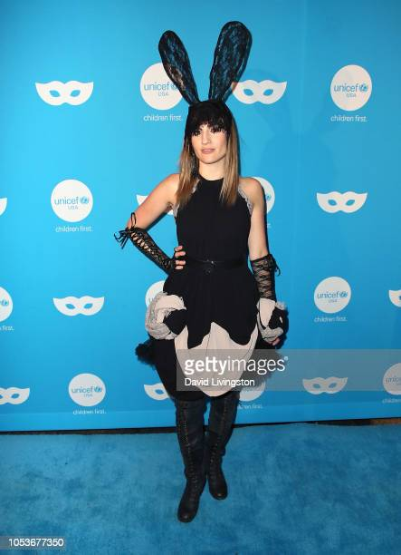Alison Haislip attends the Sixth Annual UNICEF Masquerade Ball at Clifton's Republic on October 25 2018 in Los Angeles California