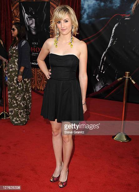 Alison Haislip attends the 'Thor' Los Angeles Premiere at the El Capitan Theatre on May 2 2011 in Hollywood California