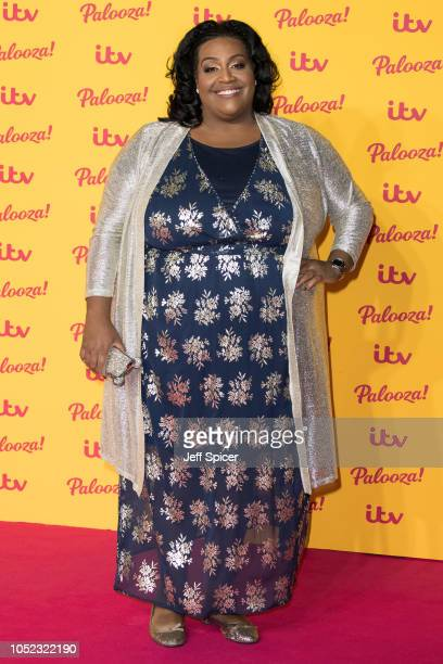 Alison Hammond attends the ITV Palooza held at The Royal Festival Hall on October 16 2018 in London England