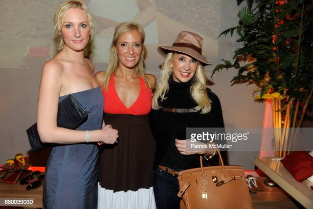 Alison Harmelin Pooneh Mohazzabi and Tracy Stern attend JOGO by POONEH Trunk Show at Norwood on May 1 2009 in New York City