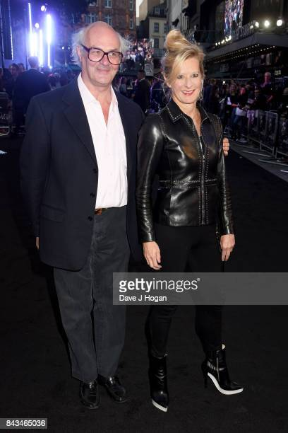Alison Jackson and guest attend the 'Mother' UK premiere at Odeon Leicester Square on September 6 2017 in London England