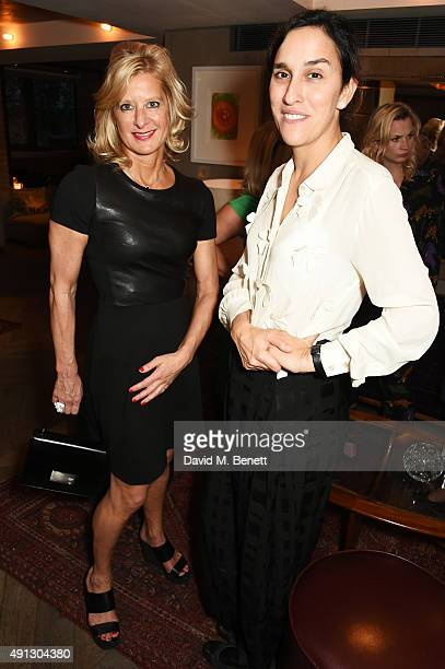 Alison Jackson and Sarah Gavron attend the Voice Of A Woman Awards at the Belgraves Hotel on October 4 2015 in London England