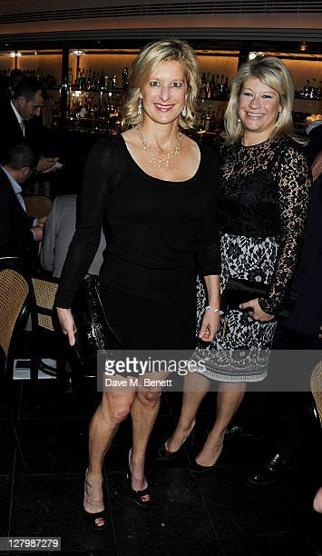 Alison Jackson attends a private dinner celebrating the 30th anniversary of iconic London restaurant Le Caprice on October 4 2011 in London England