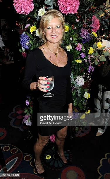 Alison Jackson attends Annabel's 50th Anniversary celebration featuring a performance by Lulu on September 23 2013 in London England