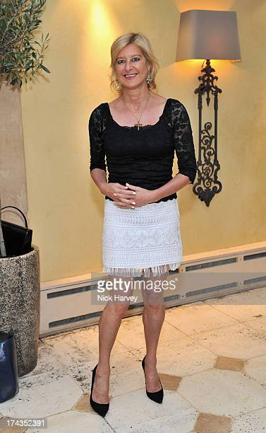 Alison Jackson attends Daphne's evening of dinner dancing at Daphne's on July 24 2013 in London England