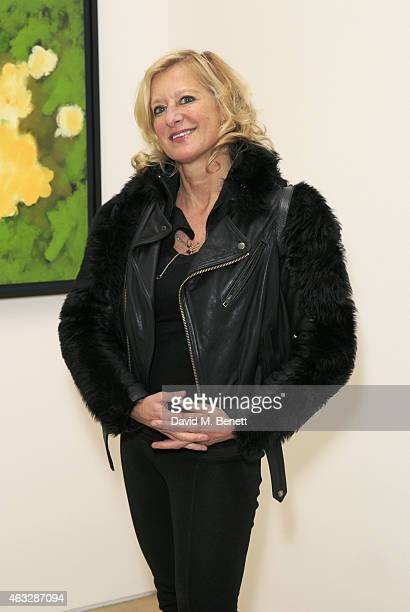 Alison Jackson attends Pace London Presents Brian Clarke on February 12 2015 in London England