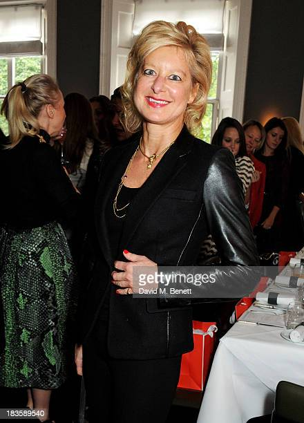 Alison Jackson attends the annual Tatler Great Girls Lunch in aid of Cancer Research UK at Mortons on October 7 2013 in London England