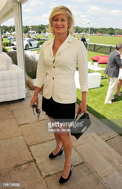 Alison Jackson attends the Audi International Guards Polo at Guards Polo Club on July 22 2012 in Egham United Kingdom