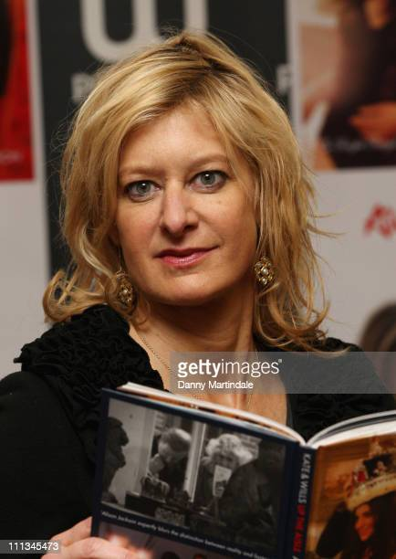 Alison Jackson attends the launch of her new book 'Kate And Wills Up The Aisle A Right Royal Fairytale' at Waterstones Piccadilly on April 1 2011 in...