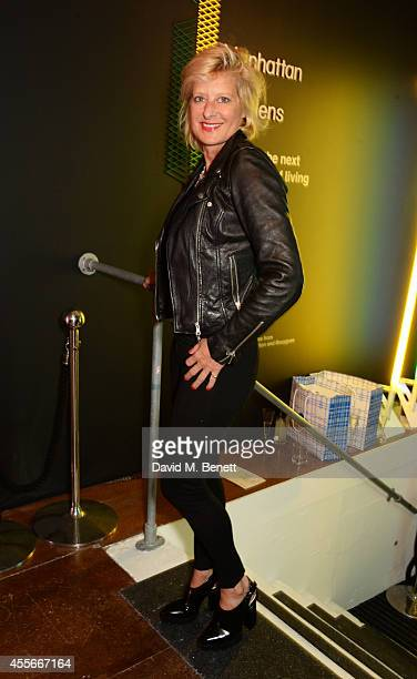 Alison Jackson attends the launch of Manhattan Loft Gardens Harry Handelsman's newest property on September 18 2014 in London England