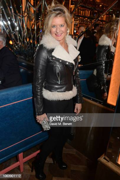 Alison Jackson attends the launch of new restaurant Brasserie Of Light at Selfridges on November 20 2018 in London England