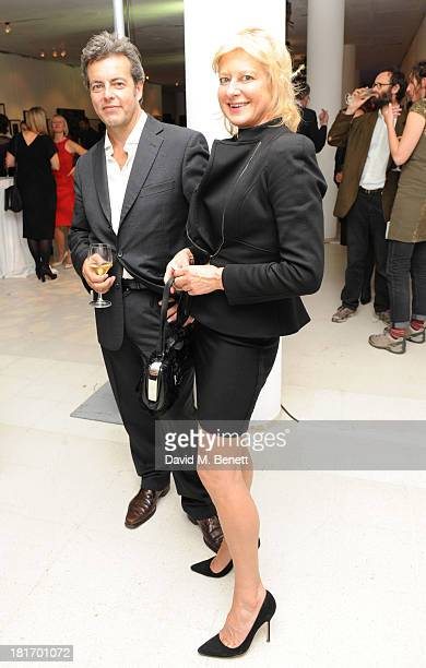 Alison Jackson attends the Macmillan De'Longhi Art Auction at Royal College of Art on September 23 2013 in London England