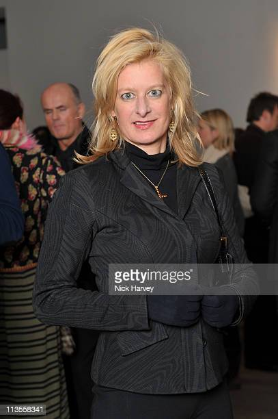 Alison Jackson attends the private view of The Macallan Masters of Photography with Albert Watson at Phillips de Pury And Company on December 1 2010...