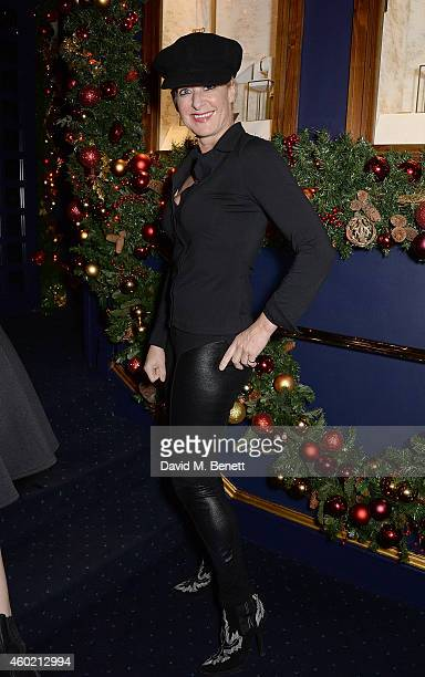 Alison Jackson attends the Sunday Times Style Xmas Party at Tramp on December 9 2014 in London England