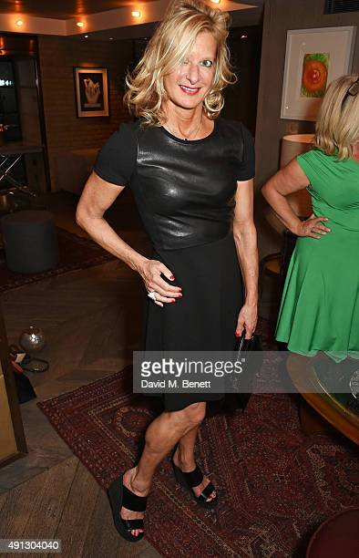 Alison Jackson attends the Voice Of A Woman Awards at the Belgraves Hotel on October 4 2015 in London England