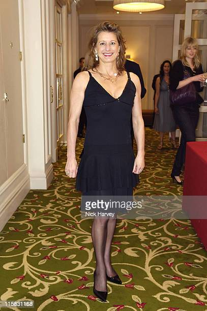 Alison Jackson during Smokey Robinson's 50th Anniversary All Star Salute – Inside at Grosvenor House in London Great Britain