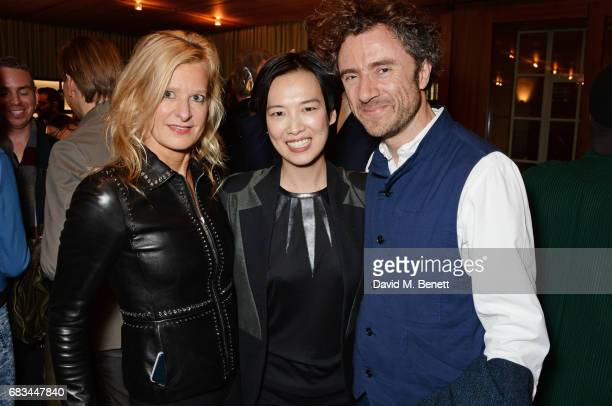 Alison Jackson Rosey Chan and Thomas Heatherwick attend '8 Years Of My Life' an intimate evening of music with Rosey Chan hosted by Rosey Chan and...