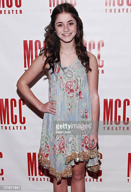 Alison Jaye Horowitz attends Miscast 2011 MCC Theater's 25th Anniversary Gala at Hammerstein Ballroom on March 14 2011 in New York City