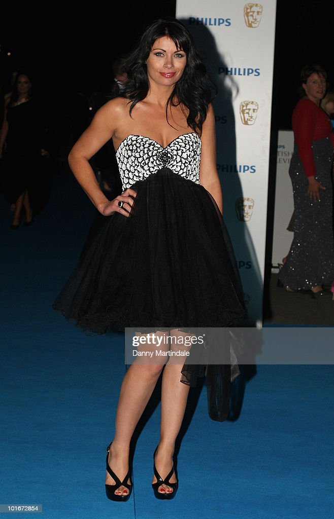 Alison King attends the after party for the Philips British Academy Television awards (BAFTA) at Natural History Museum on June 6, 2010 in London, England.