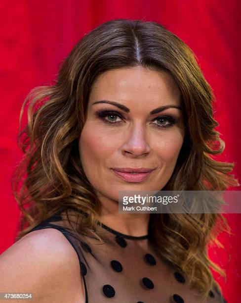 Alison King attends the British Soap Awards at Manchester Palace Theatre on May 16 2015 in Manchester England