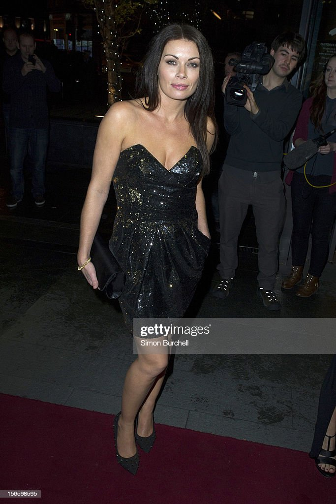 Alison King attends the RTS North West Awards held at the Hilton Hotel in Deansgate on November 17, 2012 in Manchester, England.