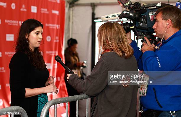 Alison Klayman attends the 'Ai Weiwei' premiere during the 2012 Sundance Film Festival held at Library Center Theater on January 22 2012 in Park City...