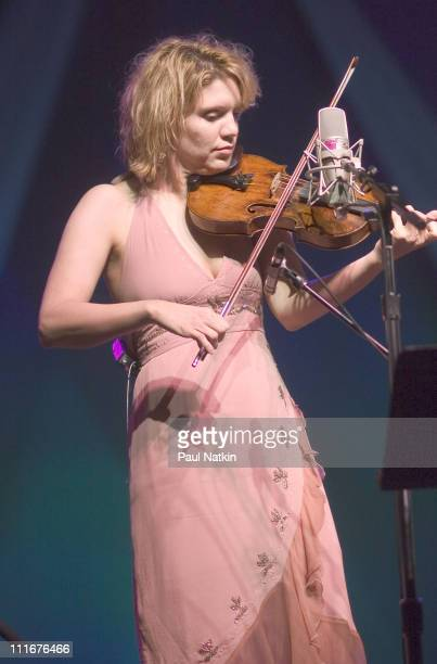 Alison Kraus and Union Station during Alison Kraus and Union Station in Concert May 7 2004 at Civic Opera House in Chicago Illinois United States