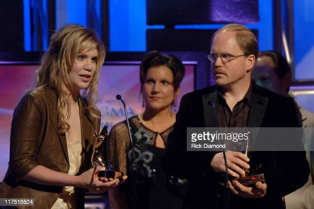 Alison Krauss and Dan Block during 37th Annual GMA Music Awards Show at Grand Ole Opry in Nashville TN United States