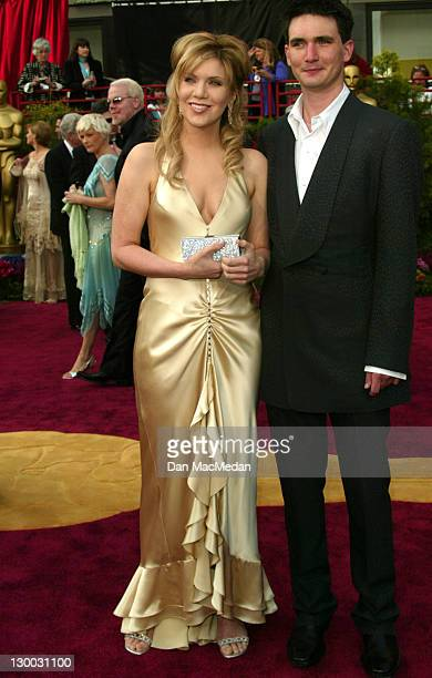 Alison Krauss and husband during The 76th Annual Academy Awards Arrivals at The Kodak Theater in Hollywood California United States