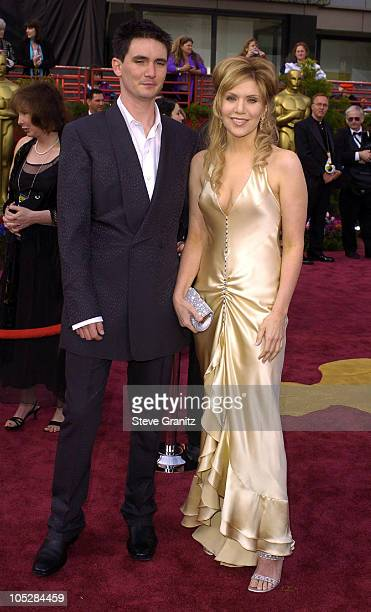 Alison Krauss and husband Mark Richard during The 76th Annual Academy Awards Arrivals at The Kodak Theater in Hollywood California United States