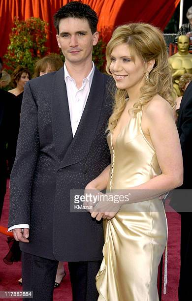 Alison Krauss and husband Mark Richard during The 76th Annual Academy Awards Arrivals by Kevin Mazur at The Kodak Theater in Hollywood California...