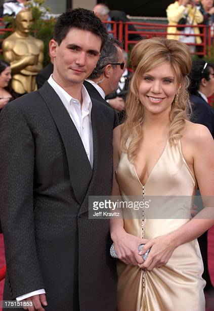 Alison Krauss and husband Mark Richard during The 76th Annual Academy Awards Arrivals by Jeff Kravitz at Kodak Theatre in Hollywood California United...