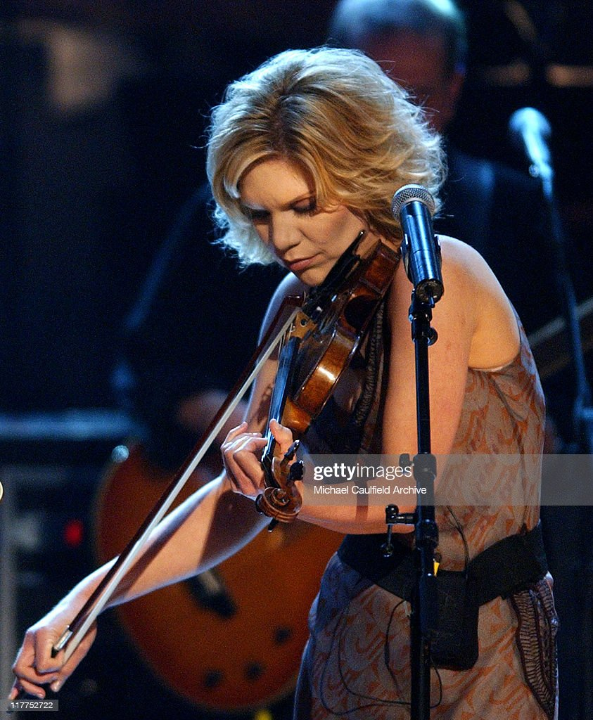 Alison Krauss at the WOMEN ROCK! Songs from the Movies which airs on