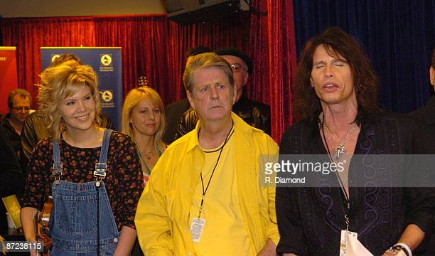 Alison Krauss, Brian Wilson and Steven Tyler