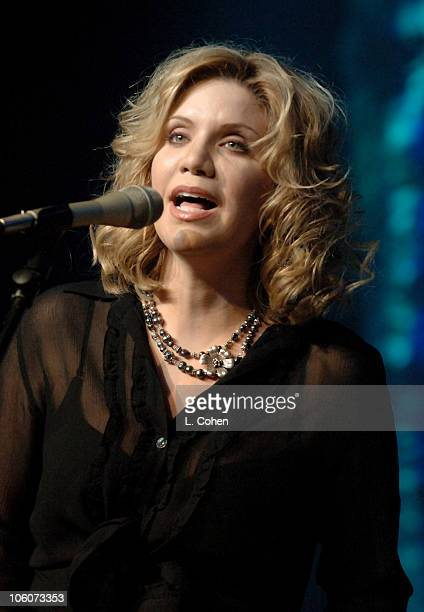 Alison Krauss during BMI 2006 Pop Music Awards at Regent Beverly Wilshire Hotel in Beverly Hills California United States